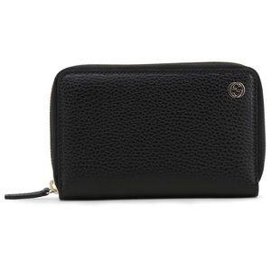 Gucci Mens Interlocking G Zip Wallet Card Case